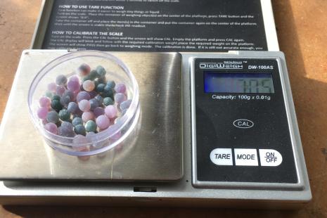 Indonesian Grape Agate Gemstones (7 grams total)